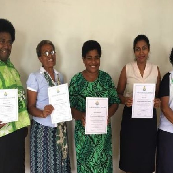 Community Health Workers with their MMH Certificate